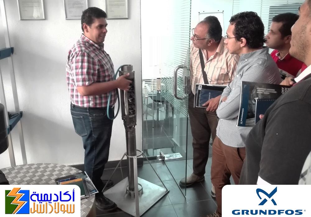 طلمبات الري بالطاقة الشمسية بالتعاون مع جروندفوس